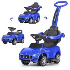 Детская машинка каталка толокар Bambi M 3594 L-4 Maserati, синий