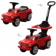 Детская машинка каталка толокар Bambi M 3597A-3 Hummer, красный