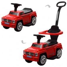 Детская машинка каталка толокар Bambi M 3597B-3 Mercedes, красный