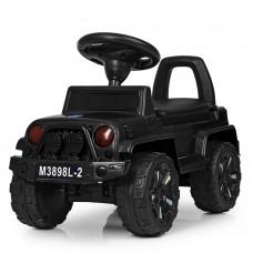 Детская каталка-толокар Bambi M 3898 L-2 Jeep, черный