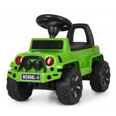 Детская каталка-толокар Bambi M 3898 L-5 Jeep, зеленый