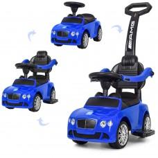 Детская машинка каталка толокар Bambi M 3901 L-4 Mercedes, синий