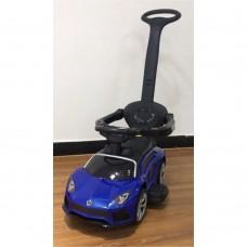 Детская каталка-толокар Bambi M 4070-4 Lamborghini, синий