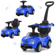 Детская каталка-толокар Bambi M 4088 L-4 McLaren, синий