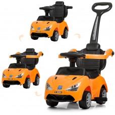 Детская каталка-толокар Bambi M 4088 L-7 McLaren, оранжевый