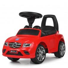 Детская каталка-толокар Bambi M 4131 L-3 Mercedes, красный