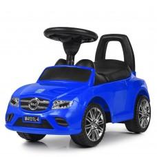 Детская каталка-толокар Bambi M 4131 L-4 Mercedes, синий