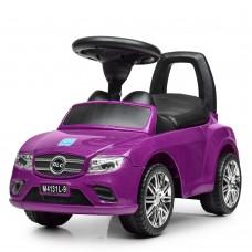 Детская каталка-толокар Bambi M 4131 L-9 Mercedes, фиолетовый