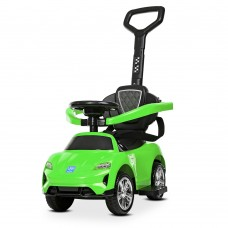 Детский электромобиль каталка толокар Bambi M 4290-5, зеленый