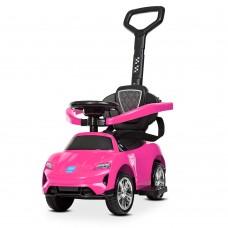 Детский электромобиль каталка толокар Bambi M 4290-8, розовый