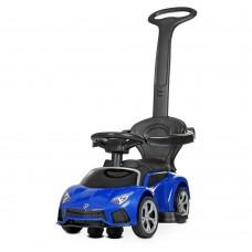 Детский электромобиль каталка толокар Bambi M 4316 L-4 Lamborghini, синий