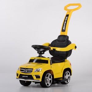 Детская каталка-толокар Bambi SX1578-6 Mercedes, желтый