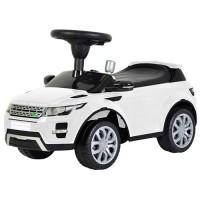 Детская каталка-толокар Bambi Z 348-1 Land Rover, белый