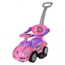 Детская машинка каталка толокар Bambi Z 382-8, розовый