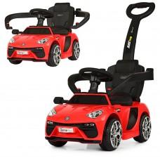 Детский электромобиль каталка толокар Bambi M 3591 L-3 Lamborghini, красный