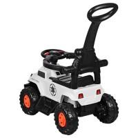 Детский электромобиль каталка-толокар Bambi M 3668-1, белый
