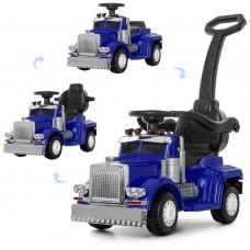 Детский электромобиль каталка толокар Bambi M 4110-4 Грузовик, синий