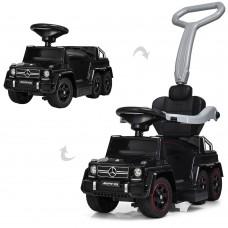 Детский электромобиль каталка-толокар Bambi SXZ1838-BLACK Mercedes, черный
