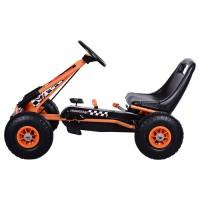 Детский веломобиль Bambi M 0645-7, оранжевый