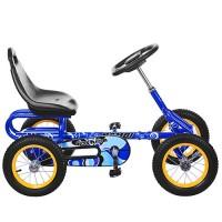 Детский велокарт Bambi M 1698-4, синий