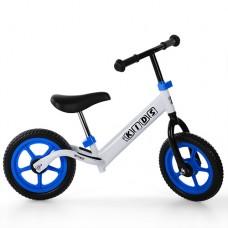 Беговел детский Profi Kids M 3436-1, бело-синий