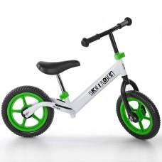 Беговел детский Profi Kids M 3436-6, бело-зеленый