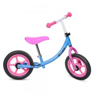 Беговел детский Profi Kids M 3437-1, розово-голубой