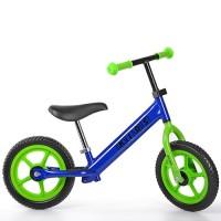 Беговел детский Profi Kids M 3440-5, салатово-синий
