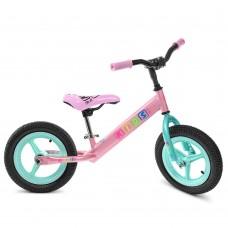 Беговел детский Profi Kids M 3846 A-2, мятно-розовый