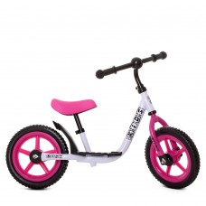 Беговел детский Profi Kids M 4067-5, розово-белый