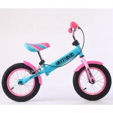 Беговел детский Profi Kids М 5454AB, розово-бирюзовый