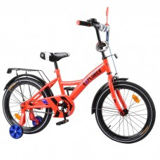 Велосипед детский двухколесный Tilly T-21818 Explorer, 18 дюймов, красный