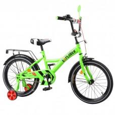 Велосипед детский двухколесный Tilly T-21819 Explorer, 18 дюймов, зеленый