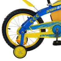 Велосипед детский двухколесный PROFI UKRAINE 16BX405UK, 16 дюймов, желто-синий