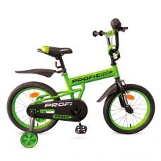 Велосипед детский двухколесный PROFI L12113 Driver, 12 дюймов, зеленый
