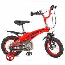 Велосипед детский двухколесный PROFI LMG12123 Projective, 12 дюймов, красный