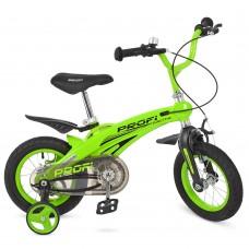 Велосипед детский двухколесный PROFI LMG12124 Projective, 12 дюймов, салатовый