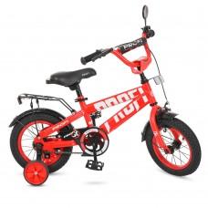 Велосипед детский двухколесный PROFI T12171 Flash, 12 дюймов, красный