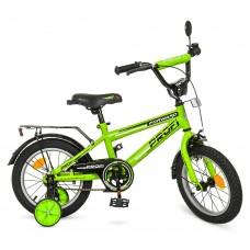 Велосипед детский двухколесный PROFI T1272 Forward, 12 дюймов, салатовый