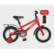 Велосипед детский двухколесный PROFI T1275 Forward, 12 дюймов, красный