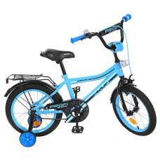 Велосипед детский двухколесный PROFI Y12104 Top Grade, 12 дюймов, бирюзовый
