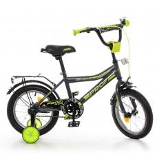 Велосипед детский двухколесный PROFI Y12108 Top Grade, 12 дюймов, серый