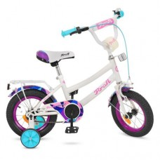Велосипед детский двухколесный PROFI Y12163 Geometry, 12 дюймов, белый
