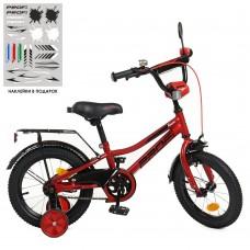 Велосипед детский двухколесный PROFI Y12221 Prime, 12 дюймов, красный