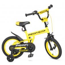 Велосипед детский двухколесный PROFI L14111 Driver, 14 дюймов, желтый