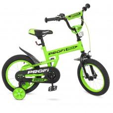 Велосипед детский двухколесный PROFI L14113 Driver, 14 дюймов, салатовый