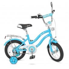 Велосипед детский двухколесный PROFI L1494 Star, 14 дюймов, голубой