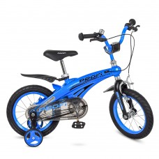 Велосипед детский двухколесный PROFI LMG14125 Projective, 14 дюймов, синий