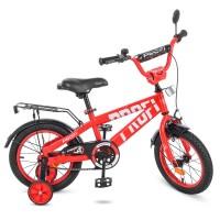 Велосипед детский двухколесный PROFI T14171 Flash, 14 дюймов, красный