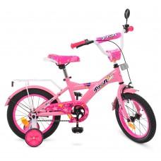 Велосипед детский двухколесный PROFI T1461 Original girl, 14 дюймов, розовый
